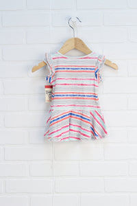 NWT Multi Stripe Sundress (Size 9M)