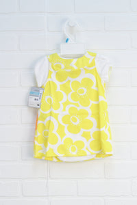 NWT Yellow + White Jumper (Carter's Size 6M)