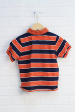 Orange + Navy Polo (Size 3T)