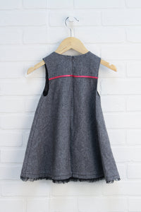Heathered Gray Tent Dress (Size 2T)