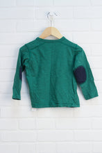 Green Slubbed Graphic T-Shirt: Shirt (Size 3)