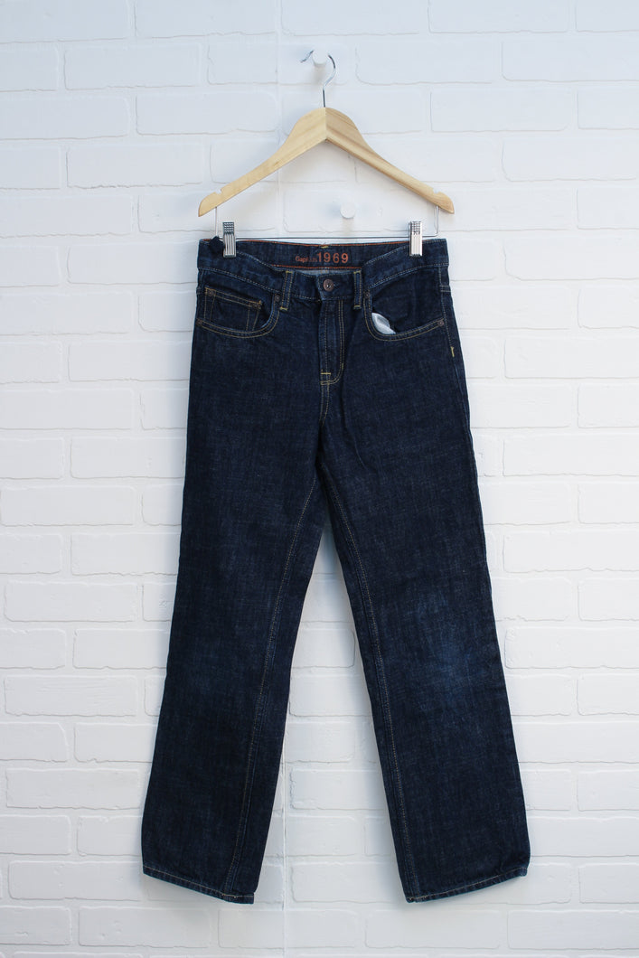 Dark Wash Original Fit Jeans (Size 12)