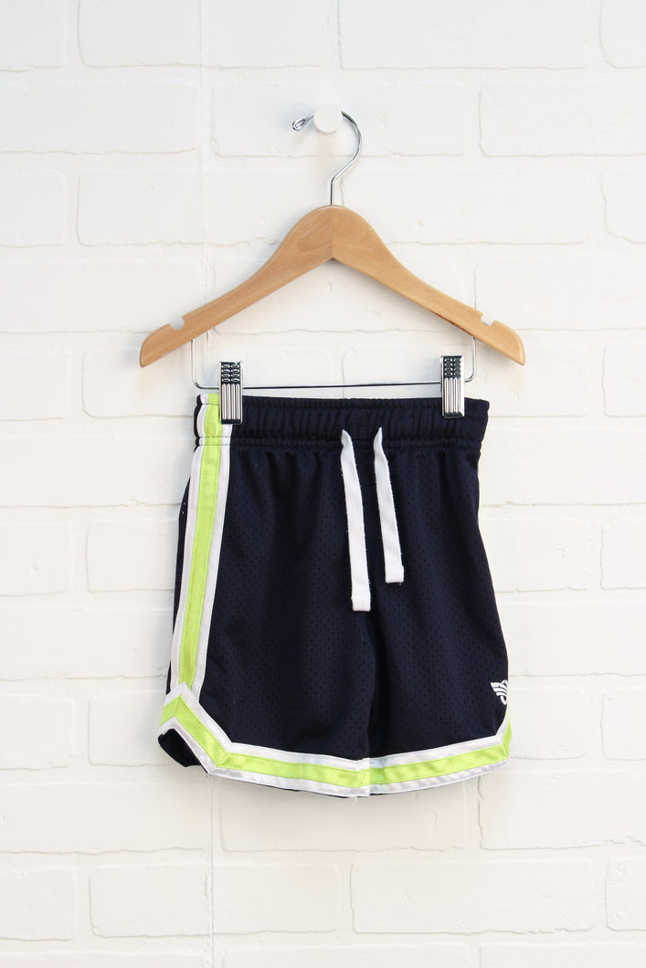 374689358b5 Navy Athletic Shorts (Size 3T)