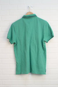 Green Graphic Polo (Men's Size M)
