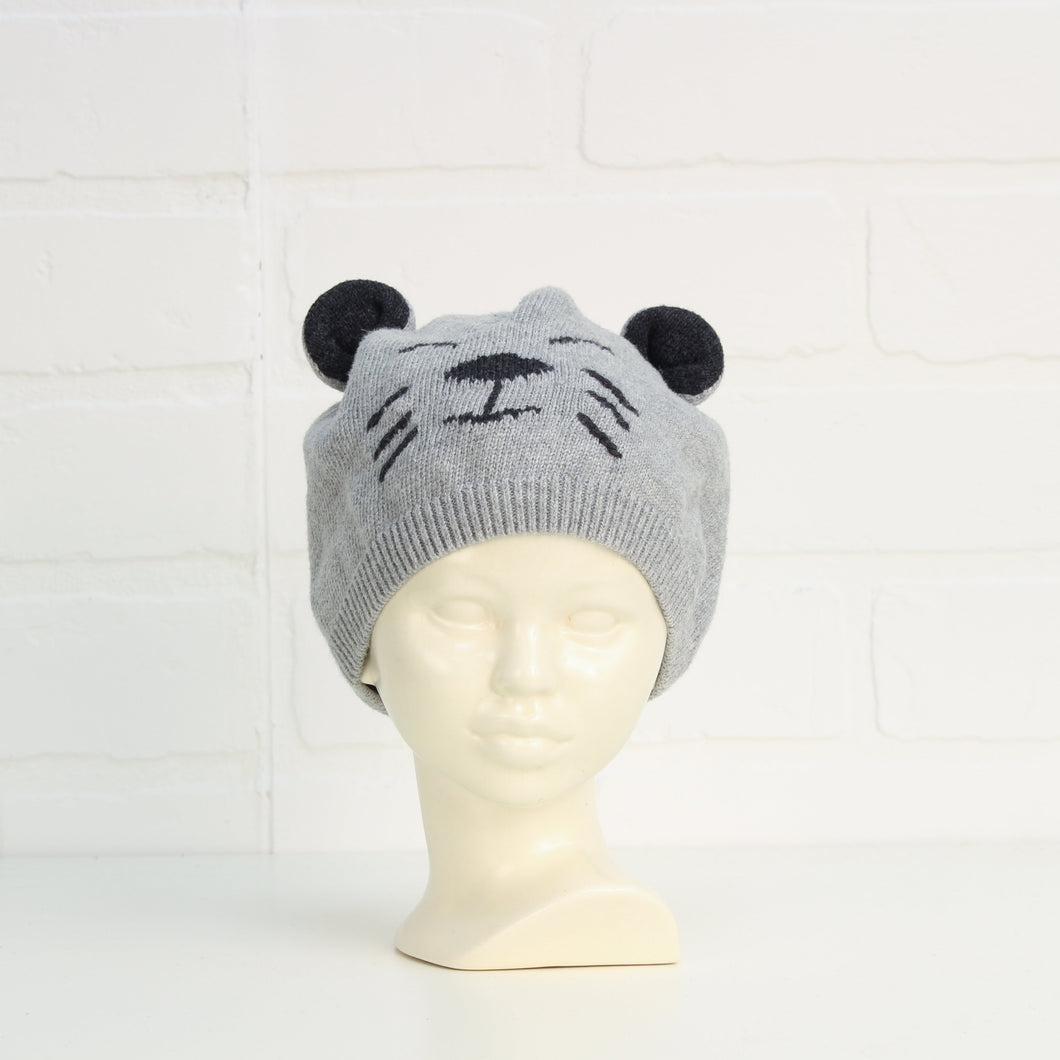 Heathered Grey Graphic Toque (O/S Infant)