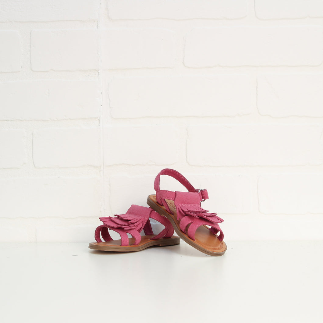 Magenta Sandals (Little Kids Shoe Size 7)