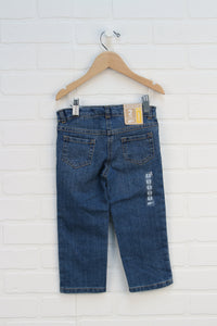 NWT Vintage Wash Straight Leg Jeans (Size 2)