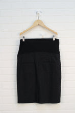 Black Maternity Pencil Skirt (Maternity Size M)