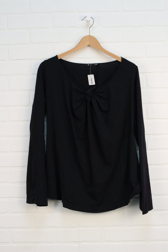 Black Maternity Top (Maternity Size M)
