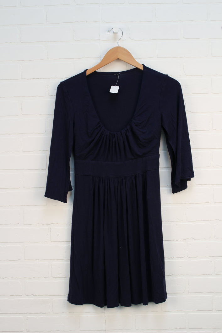 Navy Maternity Dress (Maternity Size M)