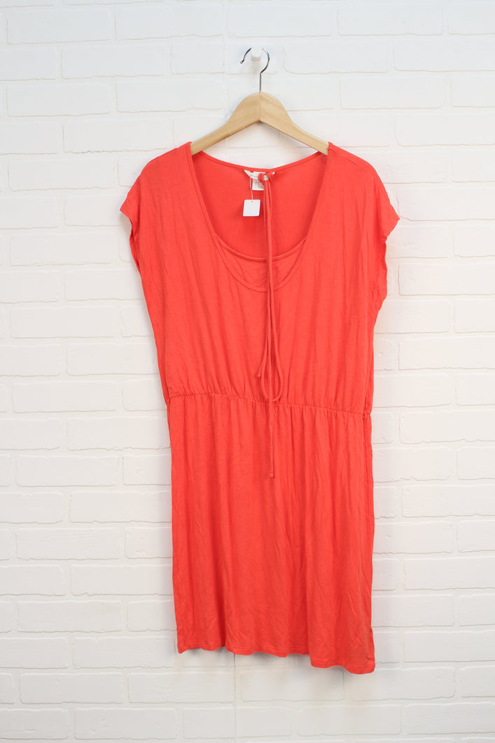 Coral Maternity Sundress (Maternity Size M)