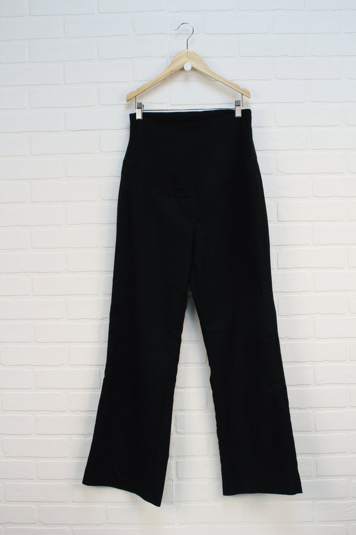Black Maternity Dress Pants (Maternity Size M)