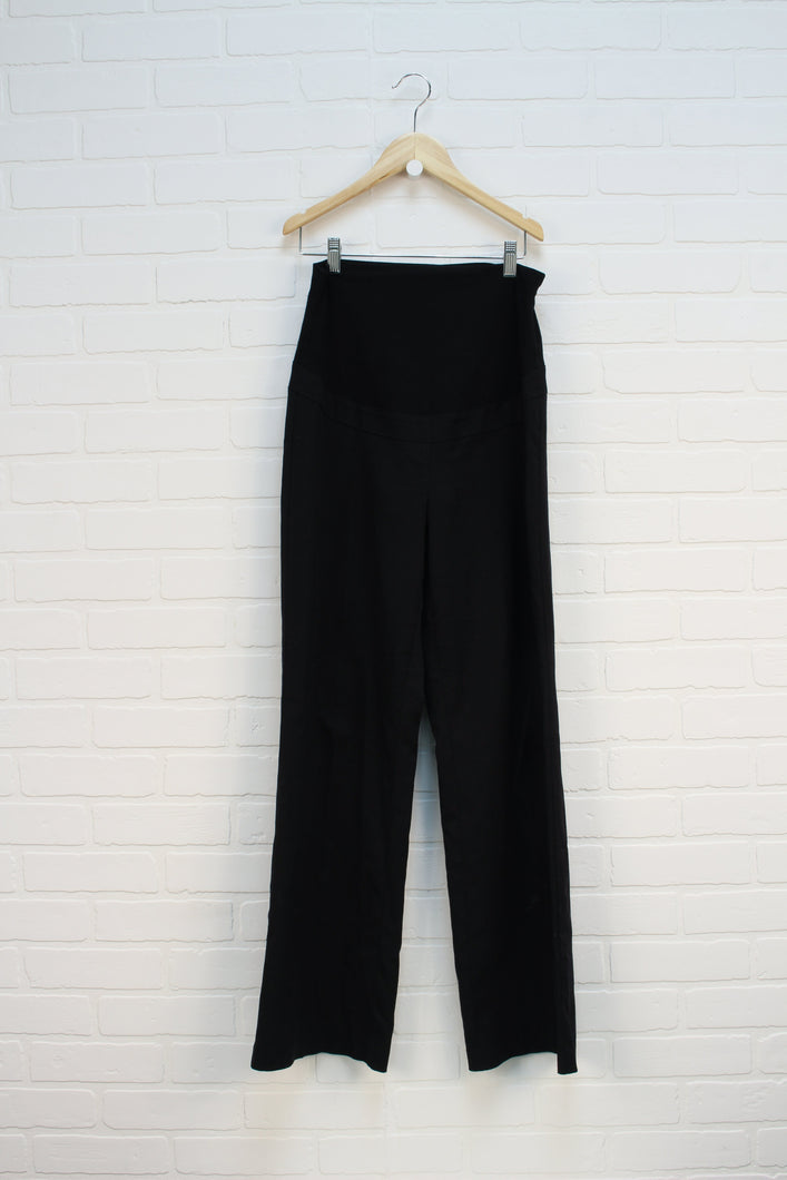 Black Wide Leg Dress Pants (Maternity Size XS)