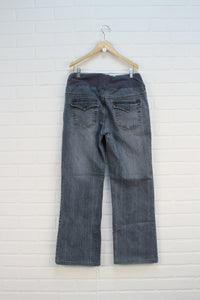 Wide Leg Maternity Jeans (Maternity Size S)