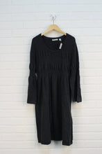 Slate Bell Sleeve Maternity Dress (Maternity Size XL)