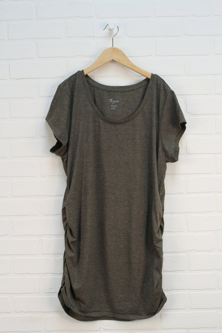 Heathered Green Tunic (Maternity Size XL)