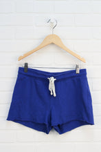 Indigo French Terry Shorts (Women's Size XS)