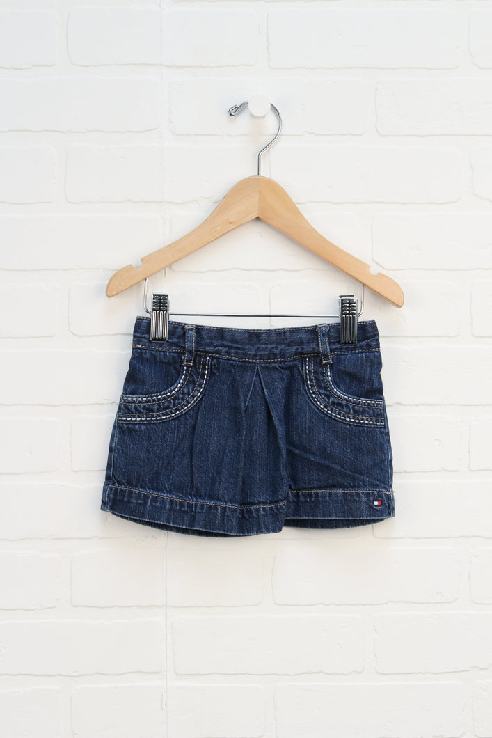 Denim Mini Skirt (Size 2T)