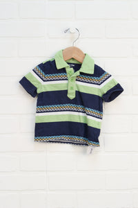 Navy + Lime Polo (Size 6-12M)