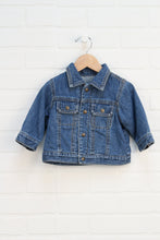 Jersey Lined Denim Jacket (Size 6-9M)