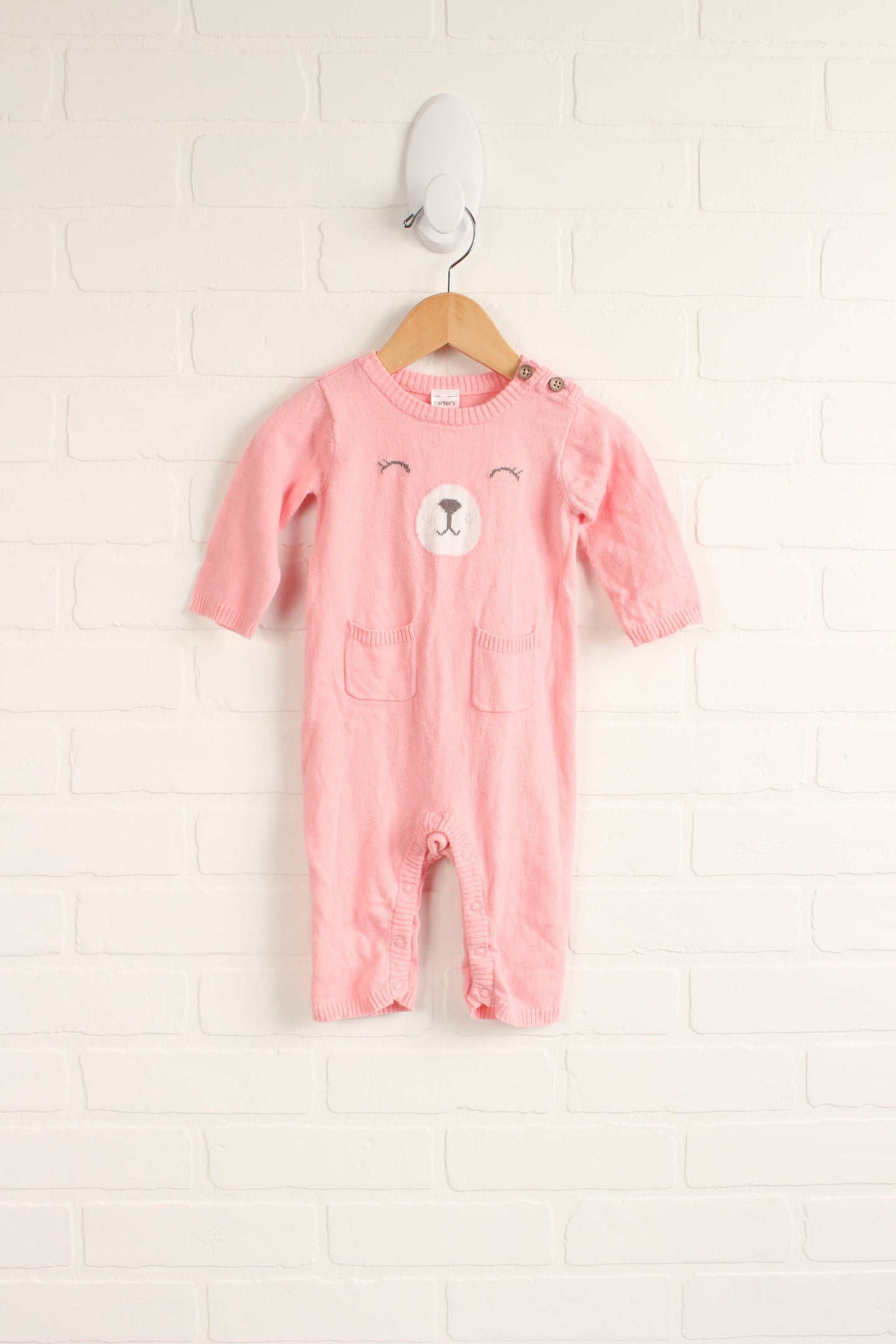 Pink Romper (Carter's Size 6M)