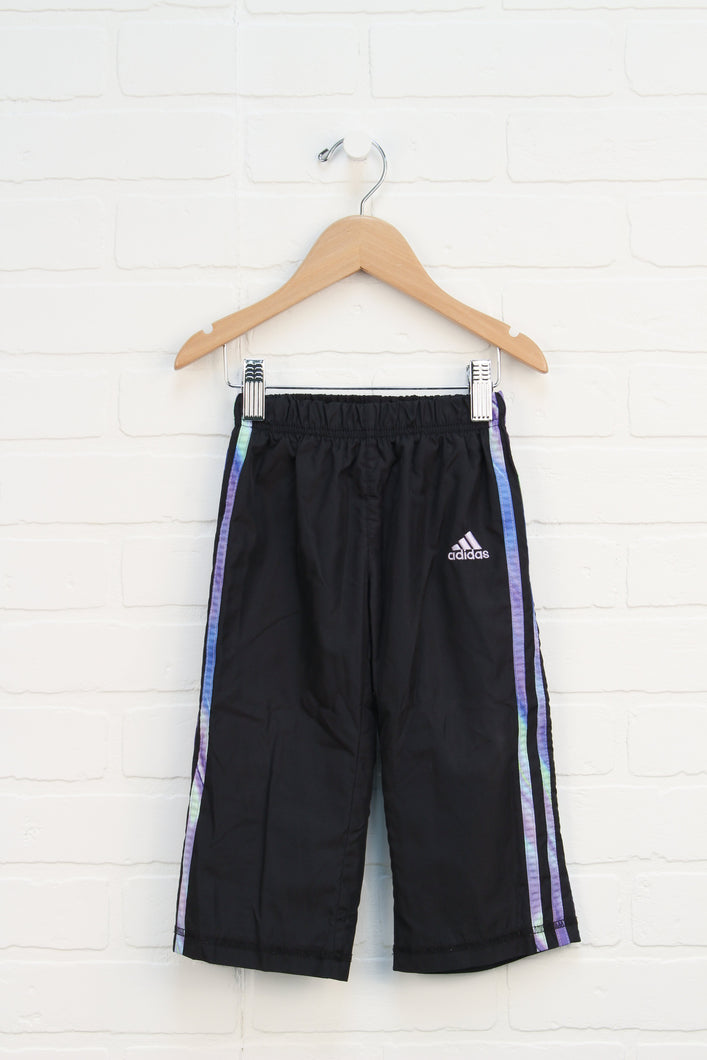 Black Mesh Lined Athletic Pants (Size 2T)