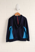 Navy + Blue Athletic Hoodie (SIze 6)