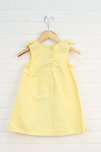 Yellow Floral Dress (Size 3T)