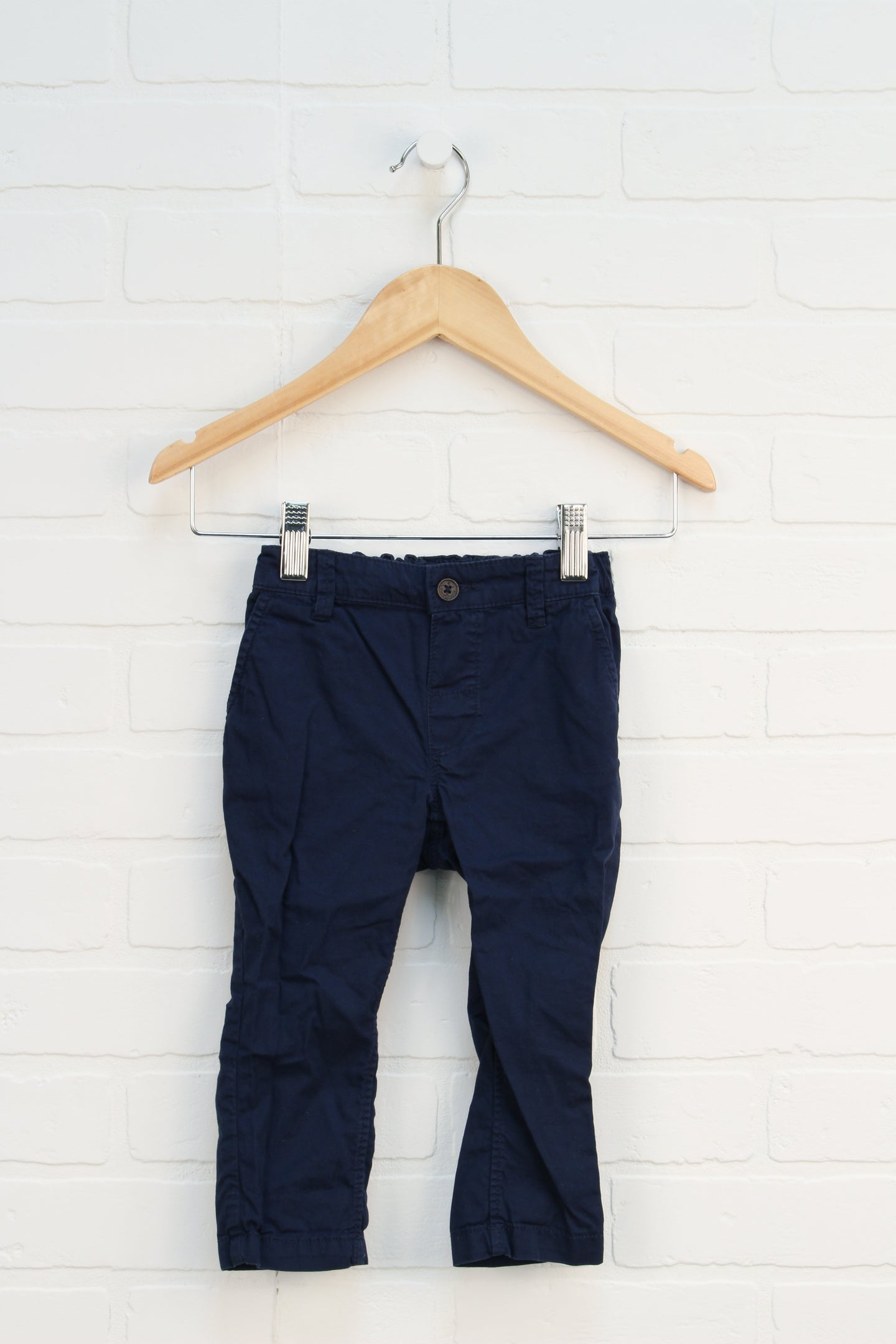 Navy Trousers (Size 12-18M)