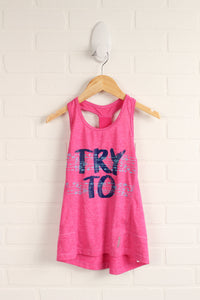 Magenta Athletic Tank (Size S/8-10)