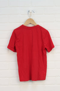 Red Graphic T-Shirt (Size 6X)