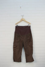 Brown Maternity Shorts (Maternity Size S)