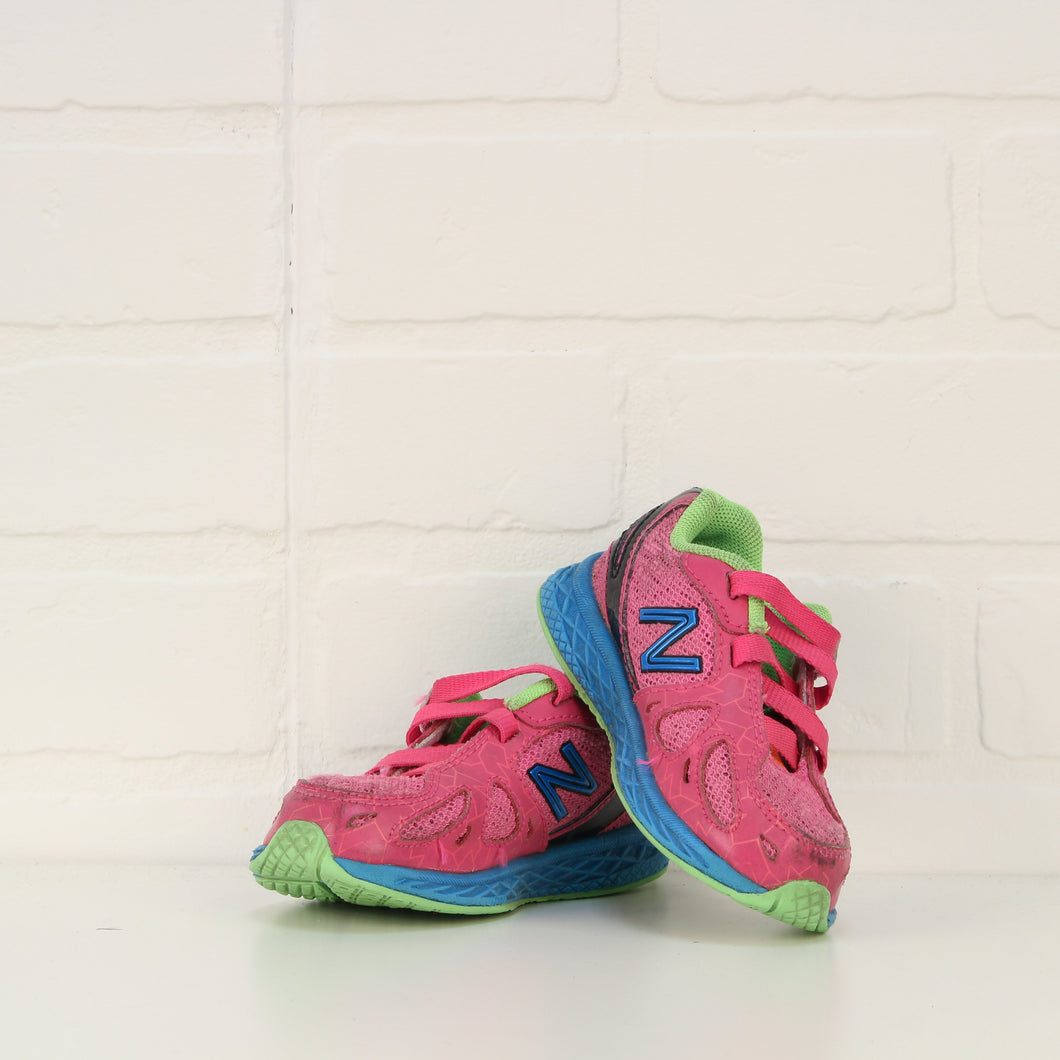 Pink + Multi Runners (Little Kids Shoe Size 6)