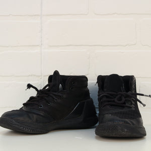 Black High-Tops (Big Kids Shoe Size 1)