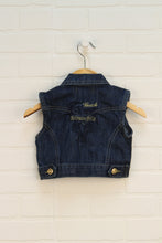 Dark Wash Denim Vest (Size 12-18M)