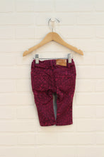 Magenta Graphic Jeans (Size 68/6-9M)