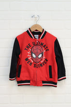Red + Black Graphic Hoodie: Spider-man (Size 3T)