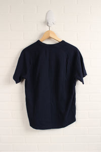 Navy Athletic Raglan (Men's Size M)