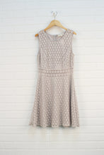 Oatmeal Lace Overlay Dress (Women's Size S)