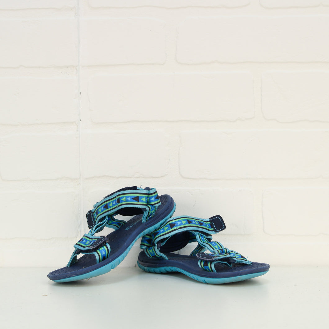 Blue Sandals (Little Kids Shoe Size 12)