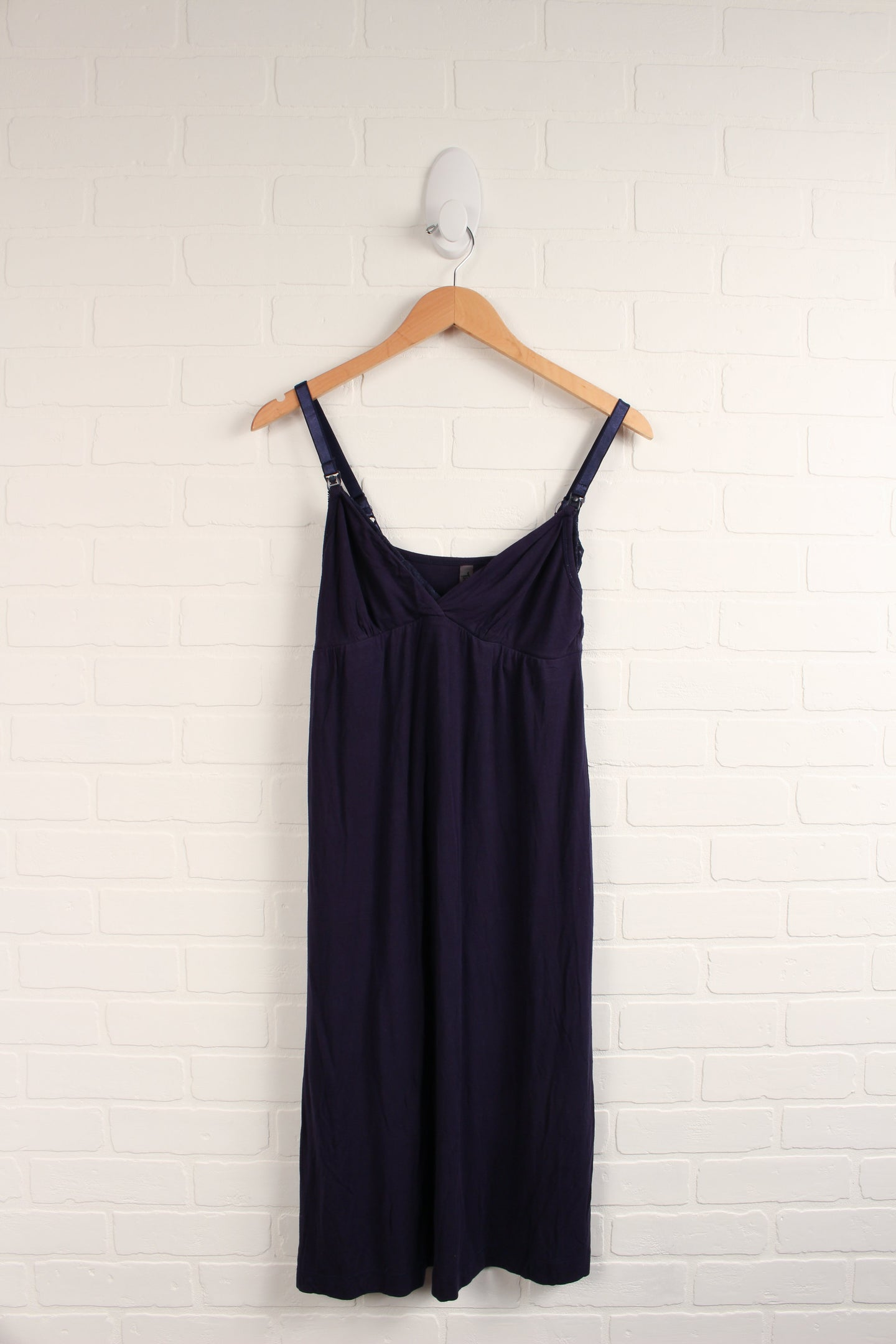 Navy Nursing Slip/Nightgown (Maternity Size M)