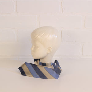 The Children's Place Blue & Gold Necktie (Size 12-18M)