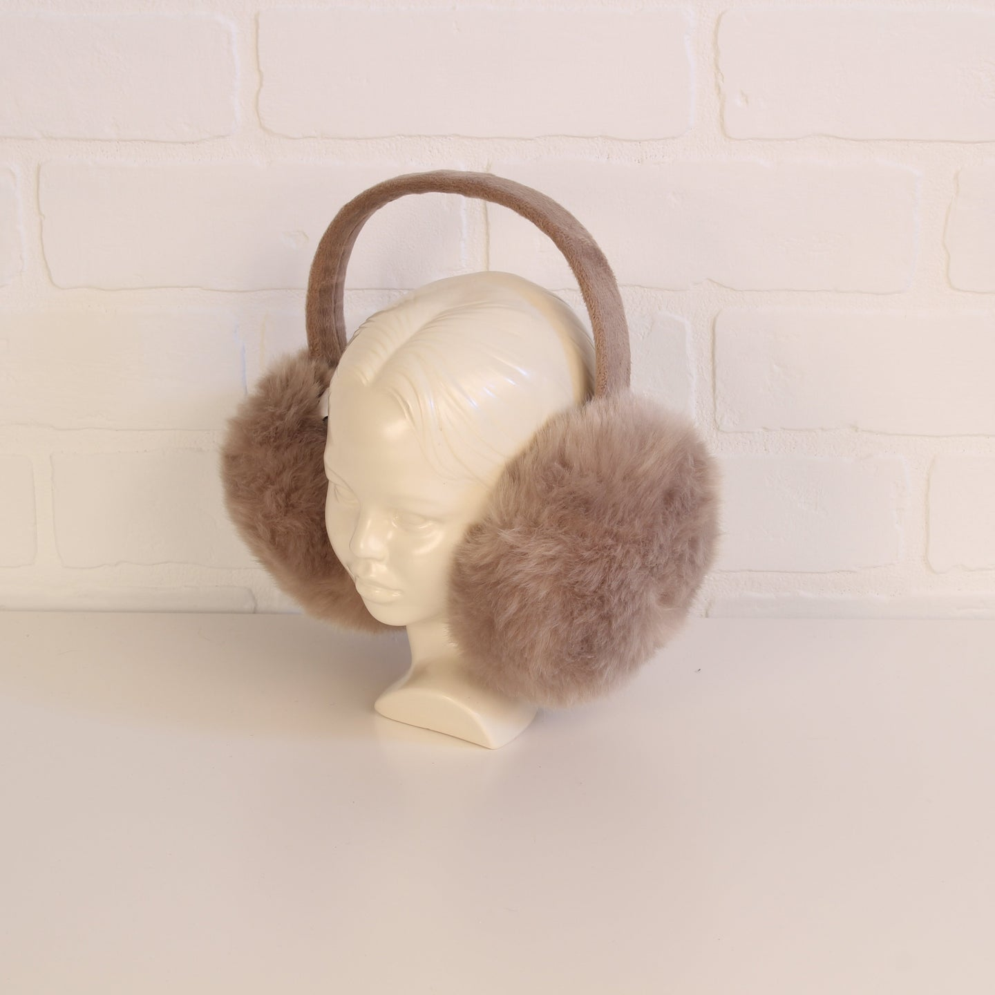Putty Faux-Fur Earmuffs (Fits Size 8Y-Adult)