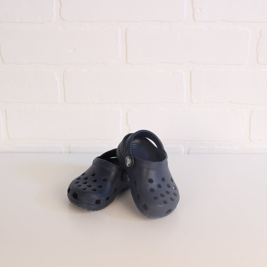 Navy Crocs (Little Kids Shoe Size 4-5)