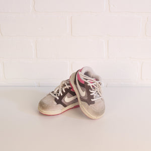 Pink + Grey Running Shoes (Little Kids Shoe Size 4C)
