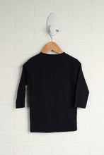 Benetton Navy T-Shirt (Size XXS/3-4)