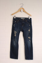 Levi's Distressed 511 Jeans (Size 8)