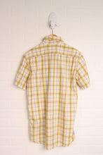 Levi's Slim-Fit Plaid Button-Up (Men's Size S)