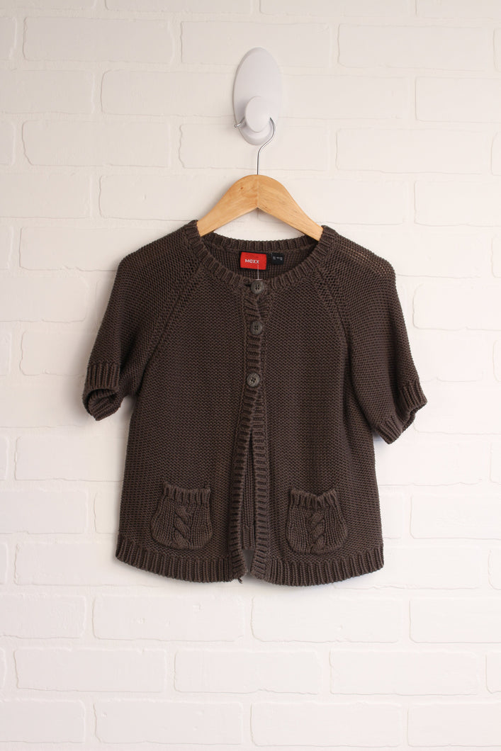 Brown Sweater (Size 122-128/7-8)