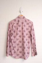 Paul Smith London Lilac + White Graphic Button-Up (Size 16/41)